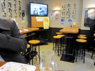 ラーメン居酒屋大都会の店内風景