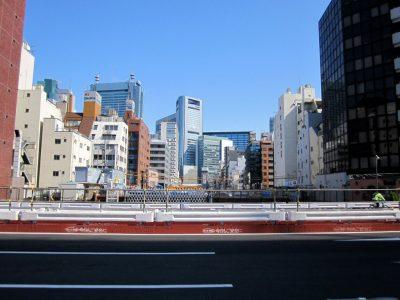 虎ノ門から汐留方面