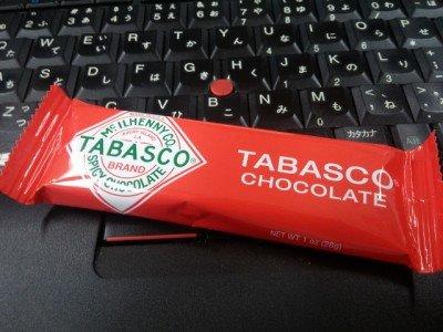 タバスコチョコレート