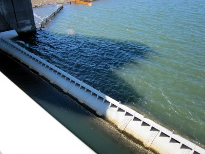 行徳橋は可動堰