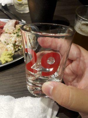 日本酒は29コップで。