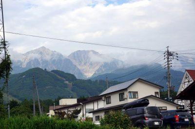 山の天気は変わりやすい before